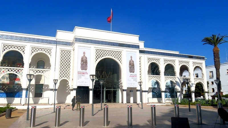 Casablanca to Rabat Museums Tour and Art Galleries