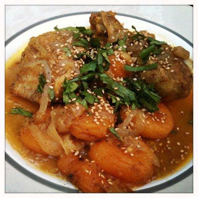 tajine de poulet Morocco Marrakech Cooking Class