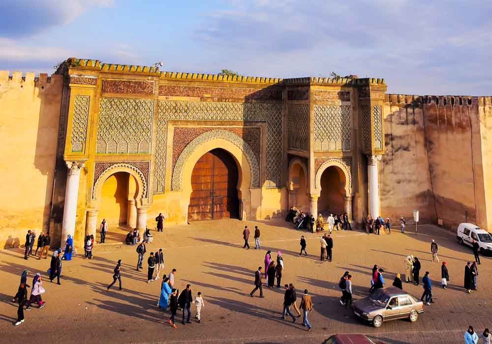 Bab Mansour Meknes Morocco private airport transfer