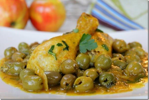 tajine poulet aux olives Fes Cooking Class